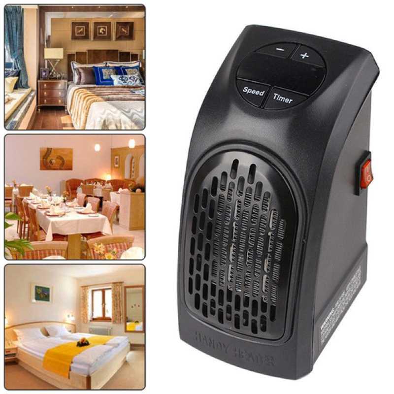 Calefactor de Pared con Enchufe Diseño Compacto 400W ...