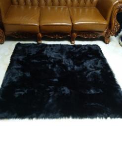 alfombra peluda afelpada