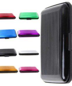 Billetera de Aluminio Varios Colores
