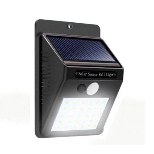 Lámpara Solar con Sensor de Movimiento Luz Blanca