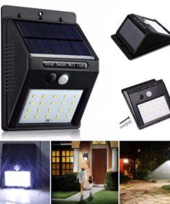 Usos de la Lámpara Solar con Sensor de Movimiento