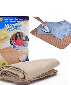 Almohadilla de Planchar Portátil con Caja y Camisa