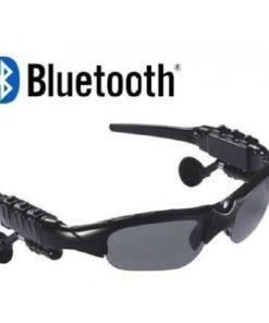 gafas deportivas con bluetooth color negro