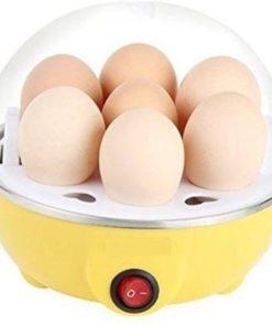 Máquina cocedora de huevos egg cooker color amarillo mega bahía