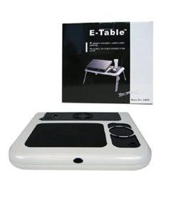 mesa plegable con ventiladores para laptop ld09 con su caja mega bahia
